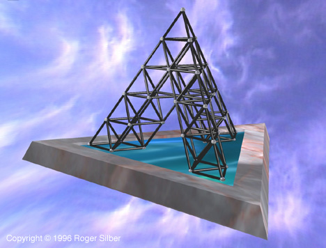 Large Tetrahedral Tower Image